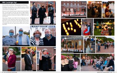RBG Candlelight Vigil