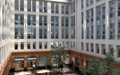 ALX Community and Stomping Ground Sign Leases in Atrium Building in Heart of Old Town Alexandria